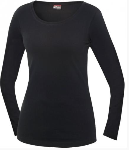 Image of   Clique Arden Langærmet t-shirt til kvinder