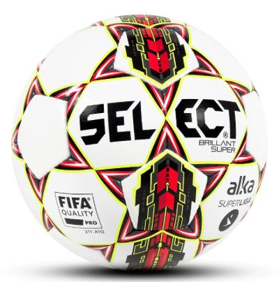 Image of   Select Brilliant Super- Alka Superliga Fodbold