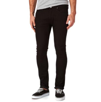 Image of   Lee Luke Clean Black Slim denim jeans