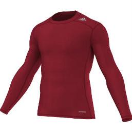 Image of   Adidas TECHFIT Base langærmet t-shirt til voksne