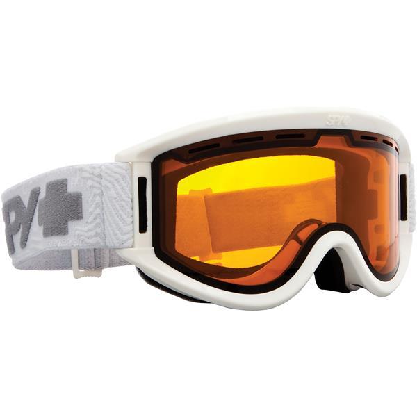 Image of   Spy+ Getaway ski briller til voksne i hvid med orange glas