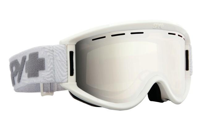 Image of   Spy+ Getaway ski briller til voksne i hvid med spejl