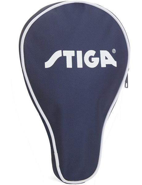 Image of   Stiga Cover til dit bordtennisbat i Marine på tilbud