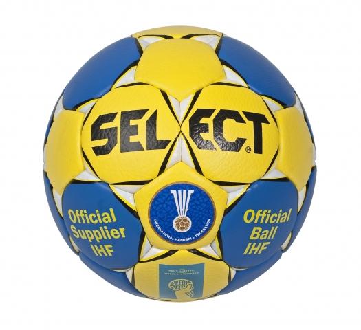 Image of   Den officielle Select WM håndbold Sweden 2011