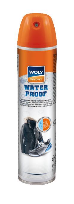 Image of   WOLY SPORT Waterproof imprægnering Spray til sko og tøj - 300 ml